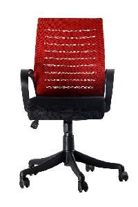 Ib Basics Boom Exective Office Chair Cc Boomred
