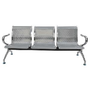 Ib Basics Stainless Steel Waiting Bench 3 Seat Sw003