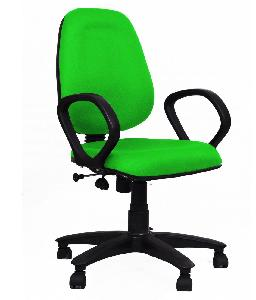R P Enterprises Opus Medium Back Office Chair - Green Cbl004
