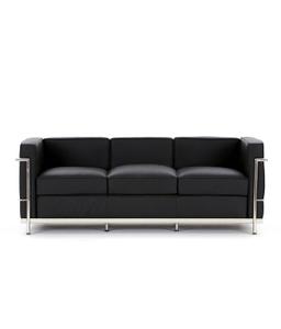 Buy Divano Dm979 Black Modular Office 3 Seater Black Sofa Online In