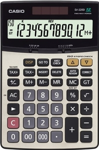 Casio Dj-220 D Check Calculator