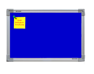 Nechams Notice Board Economy Combo Color Blue Nbblu32tf