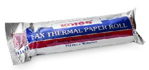 Kores Thermal Paper Rolls 80 Mm X 80 Mtr Single Roll