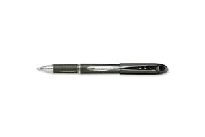 Uniball Jetstream Sx210-Bk Roller Ball Pen Pack Of 12 Black