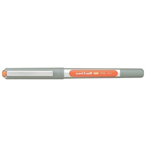 Uniball Ub157 Eye Roller Ball Pen Orange Ink