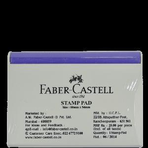 Buy Faber Castell Medium FC-Stamppad Violet Stamp Pad Online