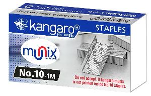 Kangaro 10 No. Staple Pins  Box Of 20 Pack