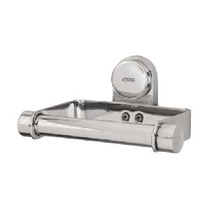 Rocio Silver Brass Italiano Toilet Paper Holder