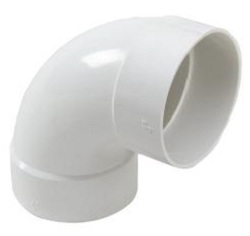 Supreme 250 Mm 10 Kg Pvc Elbow 90 Degree