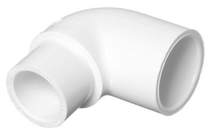 Supreme 1 X 1/2  Inch Upvc Reducer Elbow