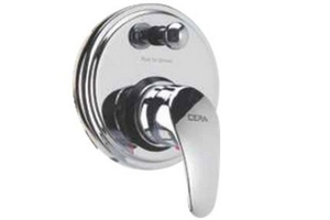 Cera Platinum Diverter Bathroom Faucet Set - F1001721