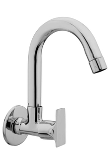 Kerro Sink Cock Faucet (Material Brass, Finishing Chrome) - Si 07