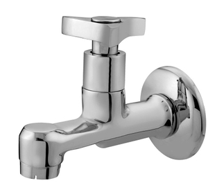 Kerro Bib Body Faucet (Material Brass, Finishing Chrome, Color Silver ) - St 01