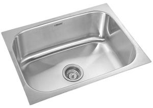 Buy Neelkanth Arrow -SB 2418 Single Bowl Kitchen Sink NK SB27 M ...