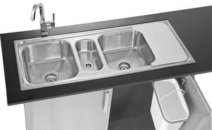 Buy neelkanth 3018 single bowl kitchen sink nk sb34 g online in neelkanth compaqt iv mbcbgb triple bowl workwithnaturefo