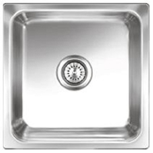 Buy Nirali Omni 410 x 410 mm Size Satin Finish Kitchen Sink Online ...