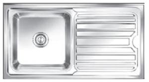 Buy Nirali Olympia 815 x 455 mm Size Satin Finish Kitchen Sink ...
