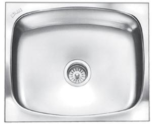 Nirali Glister 510 X 432 Mm Size Satin Finish Kitchen Sink