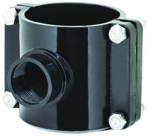 Prince Service Saddle Pipe Fitting Injection Moulded Size - 40x25