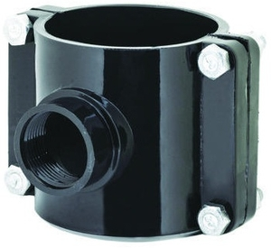 Prince Service Saddle Pipe Fitting Injection Moulded Size - 110x20
