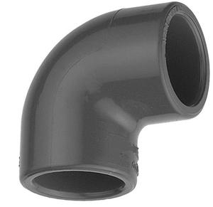 Prince Reducing Elbow Pipe Fitting Injection Moulded Size - 90x32