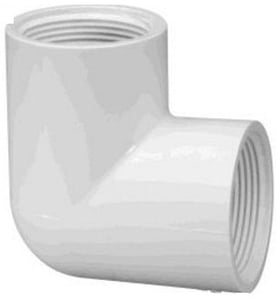 Prince Threaded Elbow Pipe Fitting Injection Moulded Size - 90x40