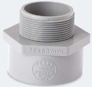 Prince Reducing Mta Pipe Fitting Injection Moulded Size - 75x63
