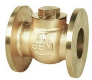 Sant Valve Bronze Horizontal Lift Check Valve No. 8 (Size 20 Mm, Body Test Pressure 21.09kg/Cm²G)