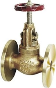 Sant Valve Bronze Controllable Feed Check Valve (Size 50 Mm, Body Test Pressure 500psig. Hyd)