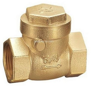 Yash 3/4 Inch Brass Swing Horizontal Check Valve