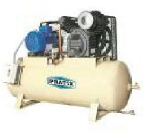Pratix 132ltr Two Stage Industrial Air Compressor With Tank Ts-01