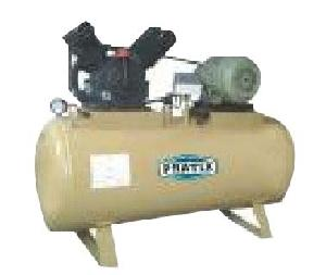 Pratix 132ltr V Type Double Cylinder Air Compressor With Tank Vt-02