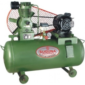 Suguna Air Compressor With Motor And Starter (1 Hp Phase 1) Tc 75