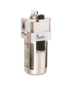 Amatic  Port Size - 3/8 Air Lubricator With Metal Guard 15 Bar Max Pressure Operating Af-06-10