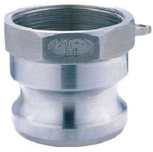 Source One Ss - A - 50 1 / 2 Inch Male Bspt Camlock Coupling A Type