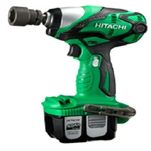 Hitachi - Koki Wr14dl2 Cordless Impact Wrench (Operating Voltage 14.4v Battery Type Li-Ion)