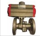 Techno Dn 40 Bv2 - Fe Thread Size 1-1/2 Inch Actuator With Flange Ball Valve