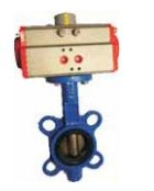 Techno Sb370-65 Thread Size 2-1/2 Inch Actuator With Butterfly Valve With Ci Disc