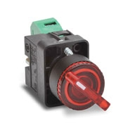 Control Selector Spring Return 2 Position (Metal Series)