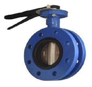 Valvequip 80mm Ss 316 Disc Double Flanged Butterfly Valve Vq-21.1