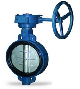 Valvequip 400mm Ss 304 Disc Wafer Type Butterfly Valve Vq-20.4