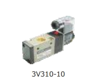 Akari 3/8 Inch 3/2 Way Single Solenoid Valve 3v-310-10