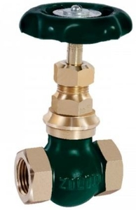 Zoloto 10 Mm Screwed Bronze Globe Valve No: 5 1002