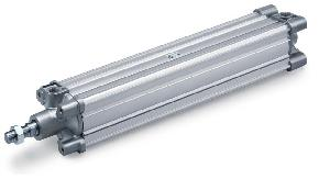 Smc Standard Iso Air Cylinder 100 Mm Bore 400 Mm Stroke Cp96sdb100-400c