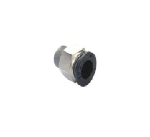 Spac 1/4 Inch Straight Connector With Male Thread Epc-6-02