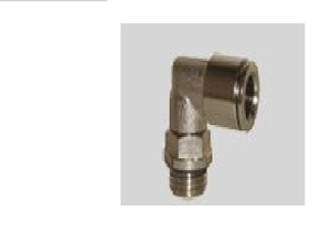 C.Matic M12 Elbow Connector With Male Thread Ma 16 06 M12x1.25