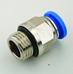 Akari M6 Straight Connector With Male Thread M6-4
