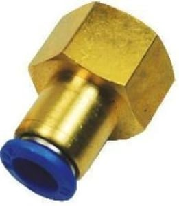 Akari 1/2 Inch Straight Connector With Female Thread 08-04