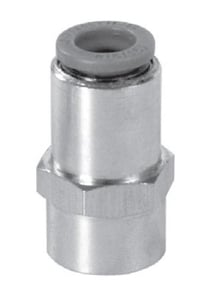 Janatics 3/8 Inch Straight Connector With Female Thread 8 Mm