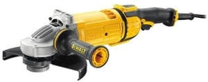 Dewalt Dwe4579-Qs 230 Mm Wheel Dia 6500 Rpm Large Angle Grinder